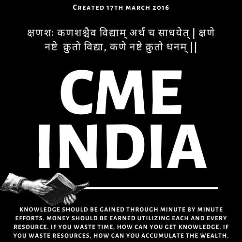 CME INDIA