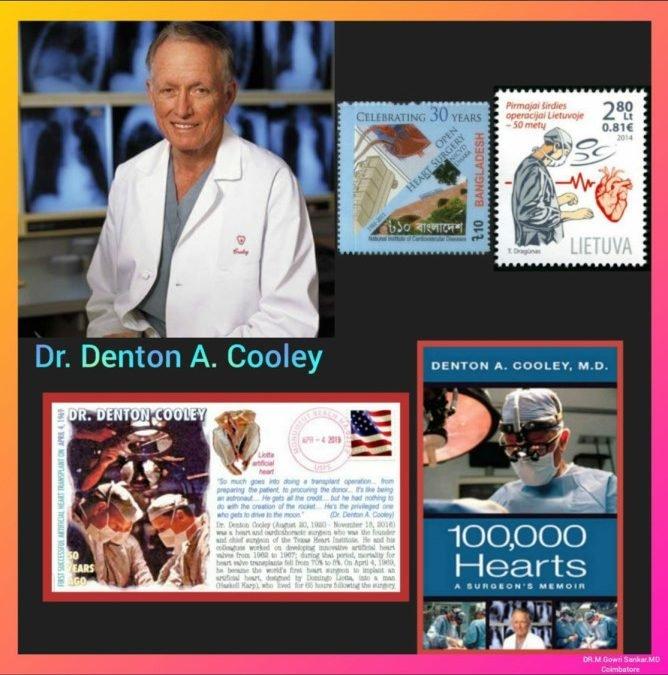 Dr Denton A Cooley