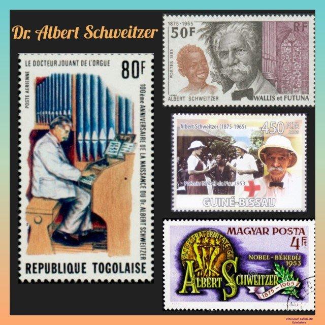 History Today in Medicine – Dr. Albert Schweitzer