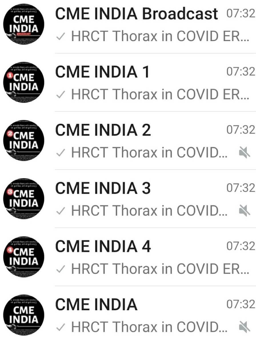 CME INDIA WhatsApp Groups
