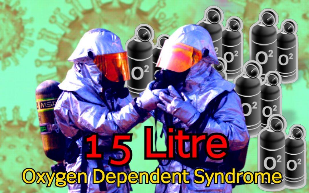 Post COVID fibrosis 15 litre oxygen