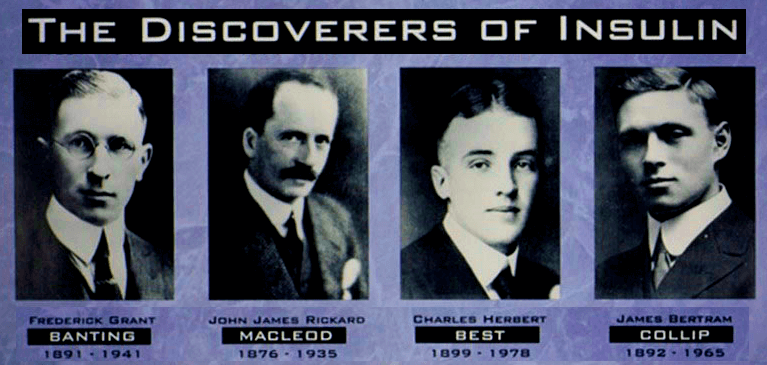 Discoverers of Insulin