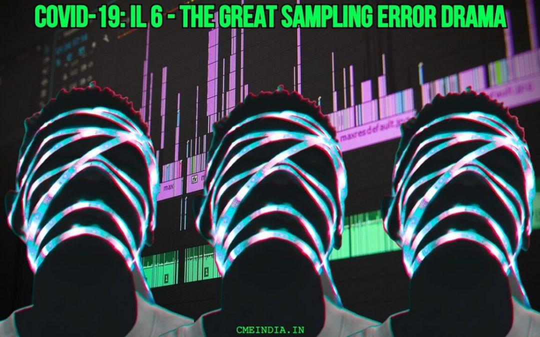 Covid-19: IL6 sampling error drama