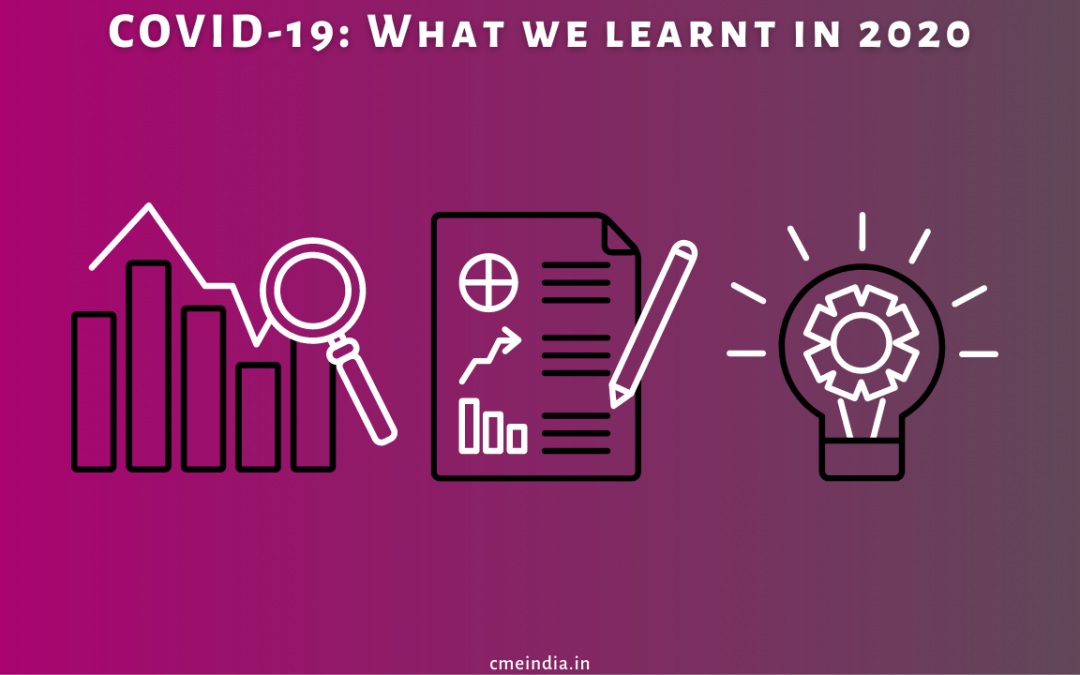 COVID-19 lessons in 2020