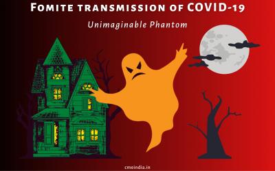 Fomite transmission of COVID-19: Unimaginable Phantom