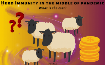 Herd Immunity in the middle of pandemic: What is the cost?