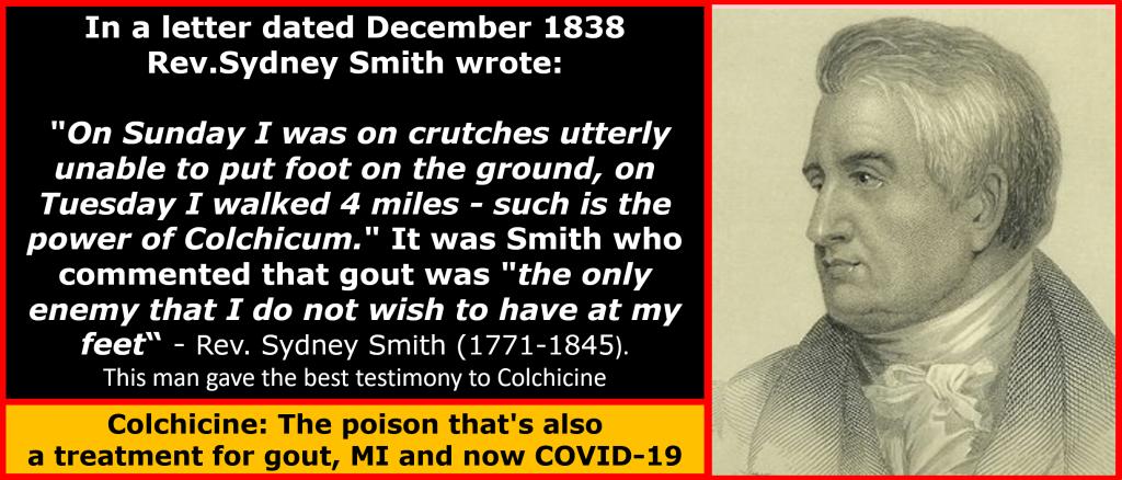 Colchicine in COVID19