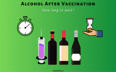 How long should we not drink alcohol after vaccination?