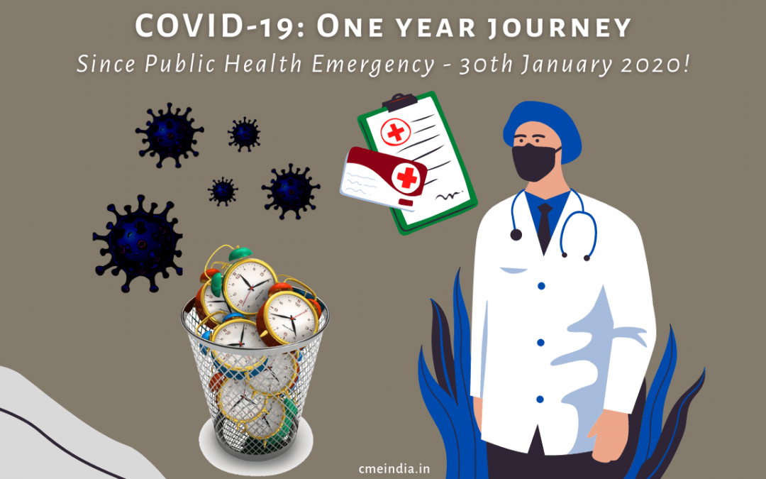 COVID - One year journey