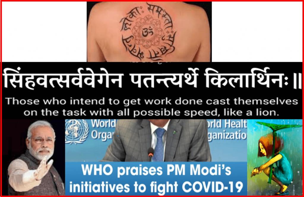 Praise for India's PM Modi