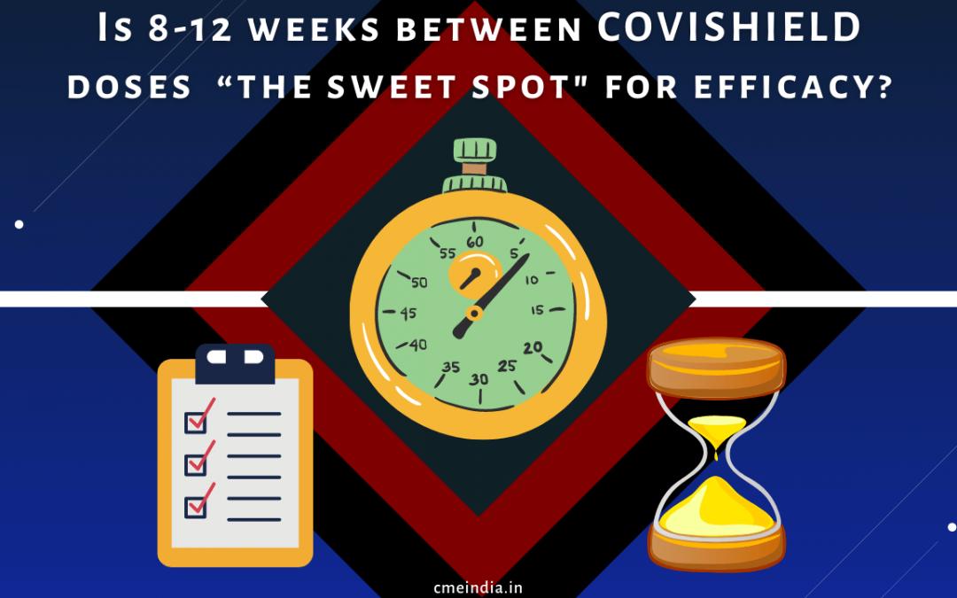 Covishield doses - The sweet spot