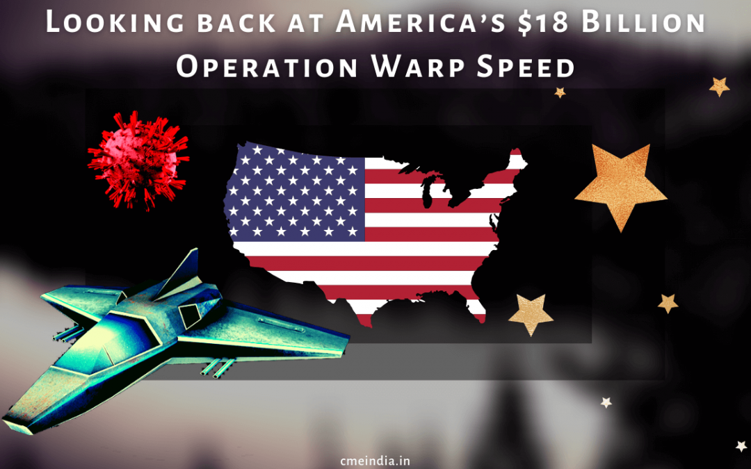 Looking back at operation warp speed