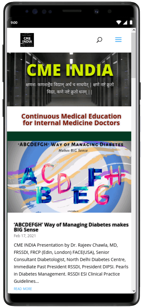 Preview - ABCDEFGH way of managing diabetes