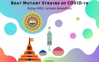 Beat Mutant Strains of COVID-19: Enjoy HOLI Colours Boundless