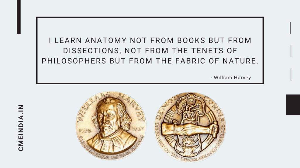 William Harvey Quote on Anatomy