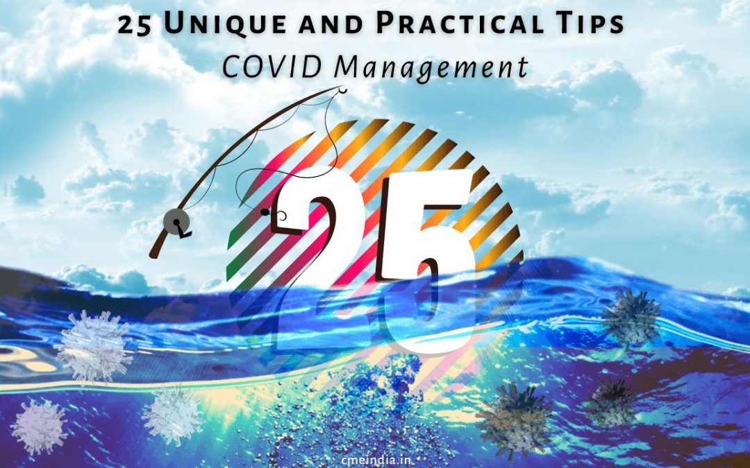 25 tips in covid-19 management - CME INDIA