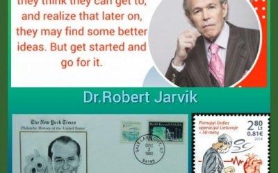 History Today in Medicine – Dr. Robert Jarvik