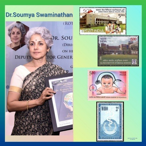 History Today in Medicine - Dr. Soumya Swaminathan - CME INDIA