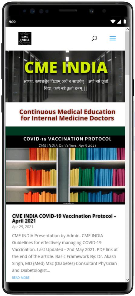 Preview - CME INDIA Covid-19 Vaccination Protocol