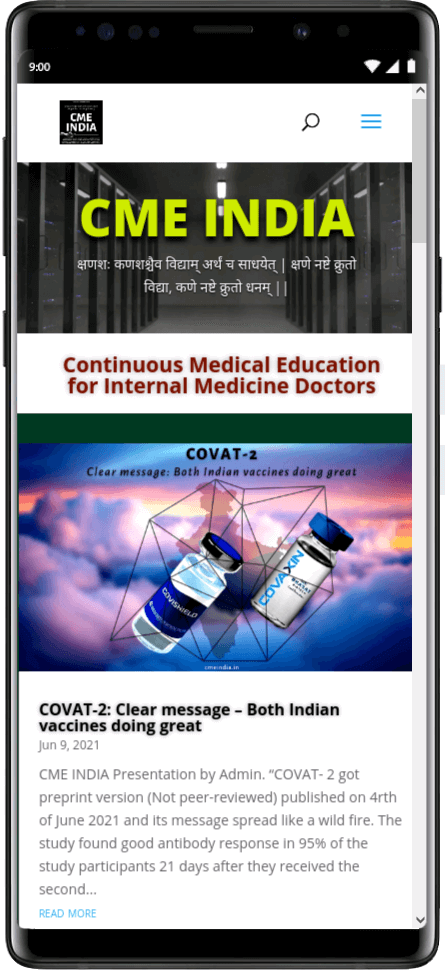 Preview - COVAT-2: Clear message - Both Indian vaccines doing great