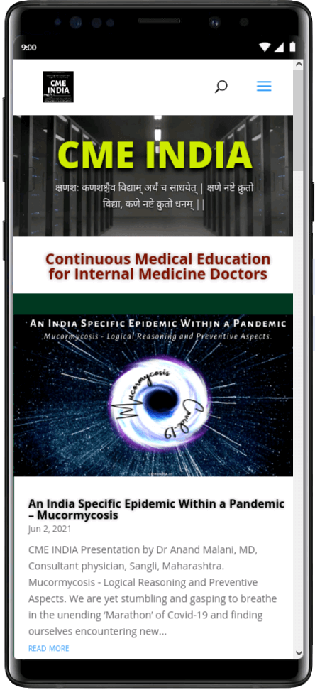 Preview - An India Specific Epidemic Within a Pandemic - Mucormycosis