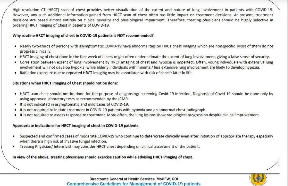 CME INDIA Covid-19 management protocol - July Update