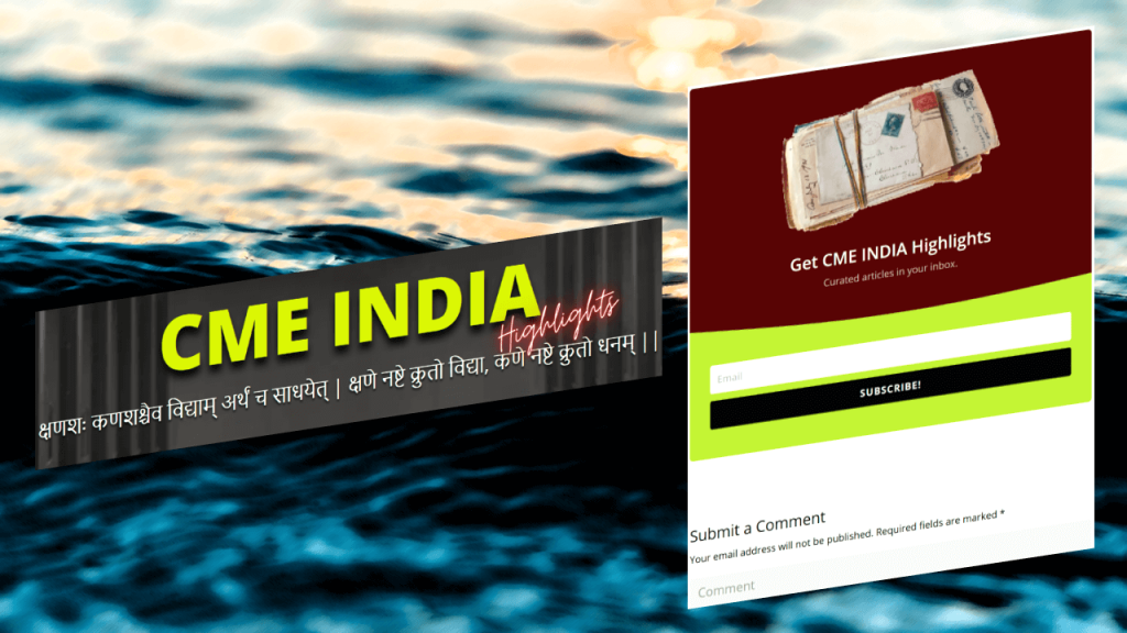 CME INDIA Highlights Launched