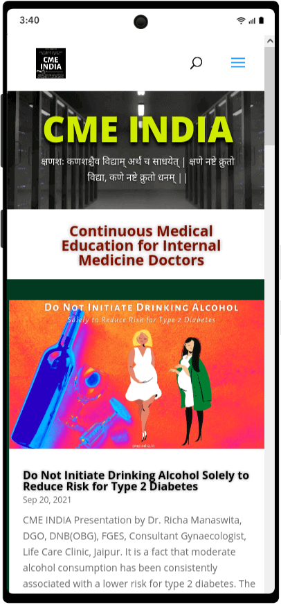 Preview - Do Not Initiate Drinking Alcohol Solely to Reduce Risk for Type 2 Diabetes