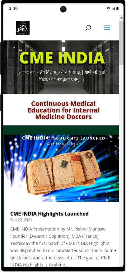 Preview - CME INDIA Highlights Launched
